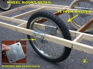 lauson's wheel mounting