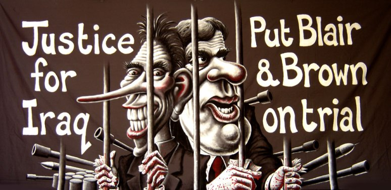 Justice for Iraq: Put Blair and rown on Trial, 2008