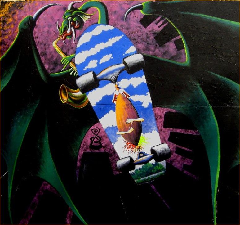 Skater Dragon