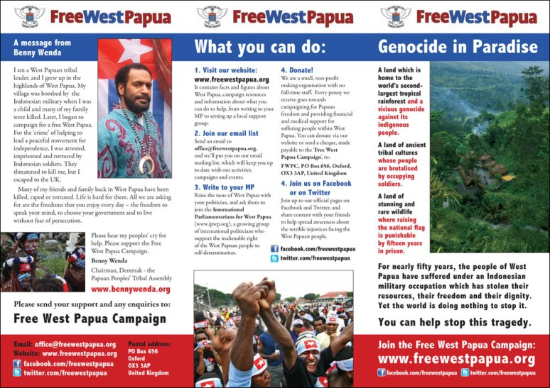 FreeWestPapua_leaflet_2010