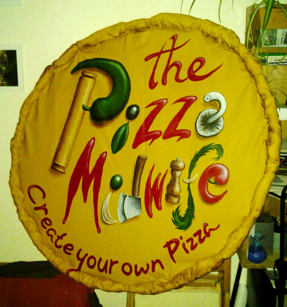 Pizza Midwife banner - October 2013