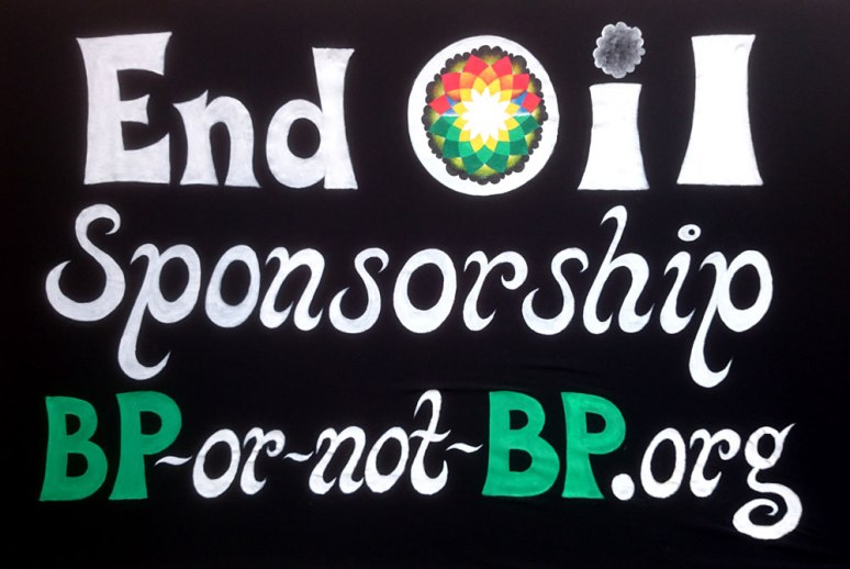 End Oil Sponsorship - for BP-or-not-BP
