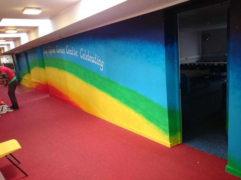 rainbow_mural2_larkrise_school_feb2015