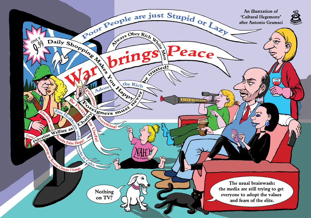 Cultural hegemony – illustrated in a cartoon | shtiggy
